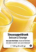 High Protein Sinaasappel drink (5 x 25g) F1