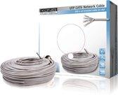 König - Internetkabel op Rol UTP CAT6 - grijs - 100 meter