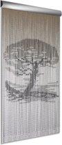 DEGOR Bonsai - Vliegengordijn - 90x210 cm