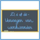 D, t of dt - Vervoegen van werkwoorden (E-learning cursus)