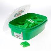 Kelfort Uitvulplaatjes groen 10mm zak van 69 plaatjes