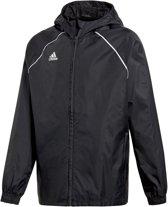 75c2164adc9 adidas Core 18 Rain Sportjas - Maat 164 - Jongens - zwart/wit