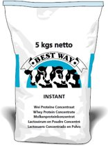 Whey Protein Concentrate 5 kg - Wei Proteïne Concentraat (instant) 5 kg - Best Way Ingredients