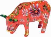 CowParade | Flower Lover Cow | Medium ceramic