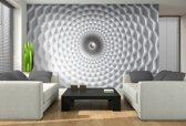 Fotobehang Design, 3D | Wit | 208x146cm