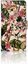 Huawei Mate 20 Lite Uniek Boekhoesje Flowers