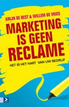 Marketing is geen reclame