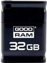 Goodram Piccolo 32GB 32GB USB 2.0 Capacity Zwart USB flash drive