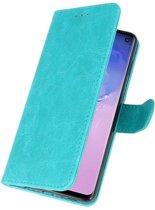 Samsung S10 Groen | bookstyle / book case/ wallet case Wallet Case Hoesje  | WN™