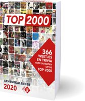 Boek cover Top 2000 scheurkalender 2020 van various artists