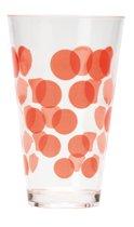 Zak! Designs Dotdot Drinkbeker - 30 Cl - Rood