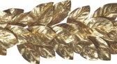 Gouden Metallic Bladeren Guirlande 152Cm, 1 Stuk