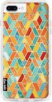 Casetastic Hard Case Apple iPhone 7 Plus / 8 Plus - Geometric Tile Pattern