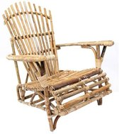 Bamboe Loungestoel - 76x90xH96 cm