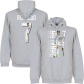 Ronaldo 7 Gallery Hooded Sweater - M