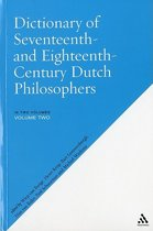 Dictionary of Seventeenth and Eighteenth-Century Dutch Philosophers