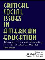 Critical Social Issues in American Education