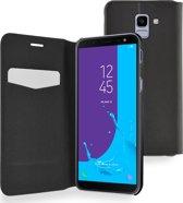 Azuri booklet ultra dun met staanfunctie - Samsung J6 (2018) - zwart