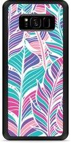 Galaxy S8 Plus Hardcase Hoesje Design Feathers