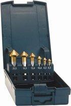 Kopverzinkboren-set D335C Advanced TiN 6,3-25,0mm Exact