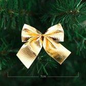 ProductGoods - 12x luxe gouden kerst strikken