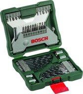 Bosch X-Line borenset - 43 delig - Met zeskantschacht hout en HSS metaalboren