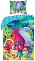 Trolls Poppy Dekbedovertrek - Eenpersoons - 140x200 cm - Multi
