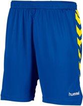 Hummel Burnley Voetbal Short - Shorts  - blauw kobalt - 164