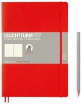 Leuchtturm1917 Notitieboek Composition B5 - Softcover - Puntjes - Rood