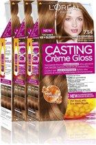 L'Oréal Paris Casting Crème Gloss 734 - Goudkoperblond - Haarverf