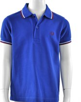 Fred Perry - Kids Twin Tipped Shirt - Kinderen - maat 98
