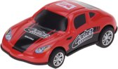 Tender Toys Raceauto 10 Cm Rood