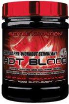 Scitec Nutrition - Hot Blood 3.0 - complex pre workout stimulant - 300 g - Blood Orange + sportandmore shaker