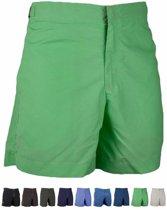 Ramatuelle  Zwembroek Heren Fitted -  Cap Martinez groen kiwi  - Maat L