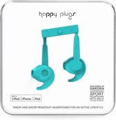 Happy Plugs Sports Mfi -  In-Ear Hoofdtelefoon - Turquoise
