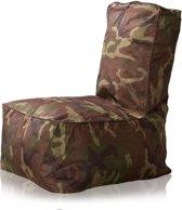 LC Kinder-zitzak Fiji outdoor camouflage - Wasbaar - Geschikt voor buiten
