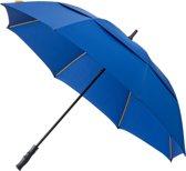 Falcone® Luxe Golfparaplu - Glasfiber Baleinen - Blauw
