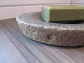 stenen zeepbakje riviersteen
