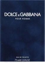 Dolce & Gabbana pour Homme - 75 ml - eau de toilette spray - herenparfum