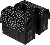 Basil Urban Load Dubbele Fietstas - Small - 25 liter - Zwart
