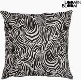 Kussen Zebra (60 x 60 cm) - Jungle Collectie by Loom In Bloom