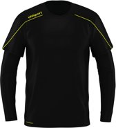 Uhlsport Goalkeeper Shirt Stream 22 SR Zwart/Fluogeel