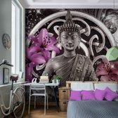 Foto Vliesbehang Muurposter Boeddha A 308x220 cm