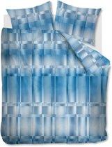 Kardol Titanium - Dekbedovertrek - Eenpersoons - 140x200/220 cm + 1 kussensloop 60x70 cm - Blue