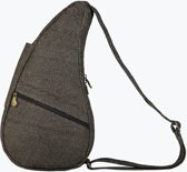 Healthy Back Bag Textured Nylon Glitter Brown Small 19263-BR