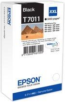 Epson T7011XXL - Inktcartridge / Zwart / Extra Hoge Capaciteit