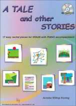 A Tale and other stories (Viool-Piano) (Bk-Cd) (Grade 1-2)