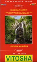 Wandelkaart Vitosha - Lozenska Mountain - Bulgarije