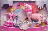 Eenhoorn unicorn met pop in luxe doos