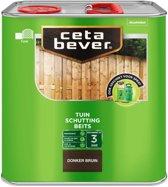 Cetabever schuttingbeits donker bruin - 2,5 liter